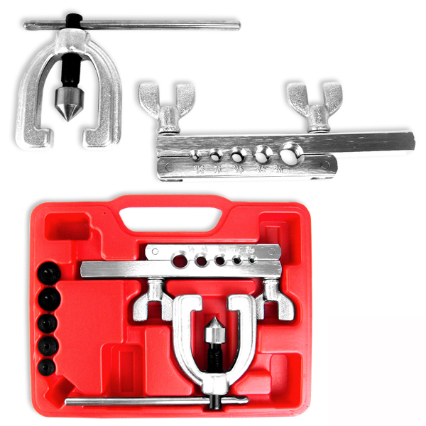 Brake Lining Tools : Double flaring brake line tool kit tubing car truck