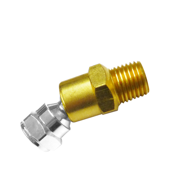 Quot npt swivel ball joint for air hose tool solid brass