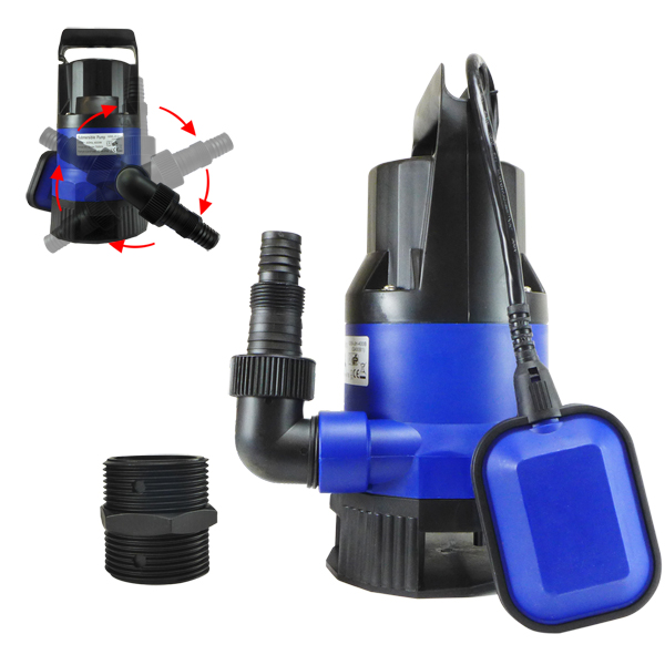 1 2 hp 2000gph submersible dirty clean water pump for What size pond pump do i need